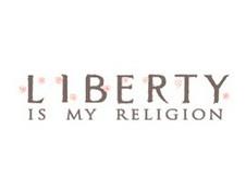 liberty is my religion logo