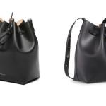 Bucket Bag Mansur Gavriel 445€ vs/ Sac Pixie Minelli 169€