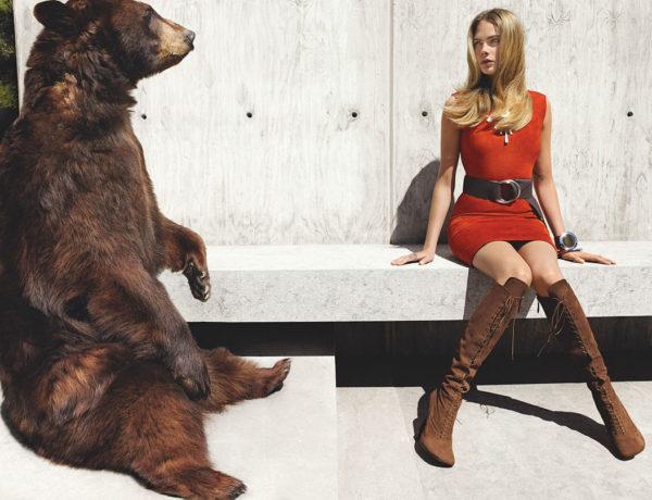 CARA DELEVINGNE - Vogue Magazine Photoshoot by Mario Testino