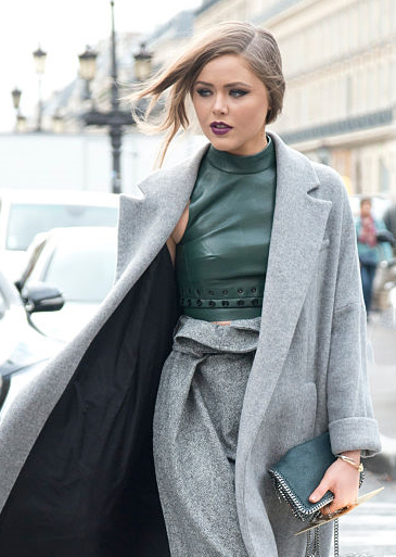 Kristina Bazan Paris Fashion week