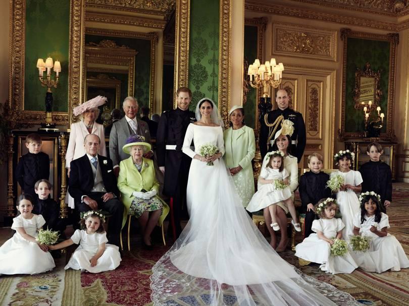 La robe de mariée de Meghan Markle photos officielles