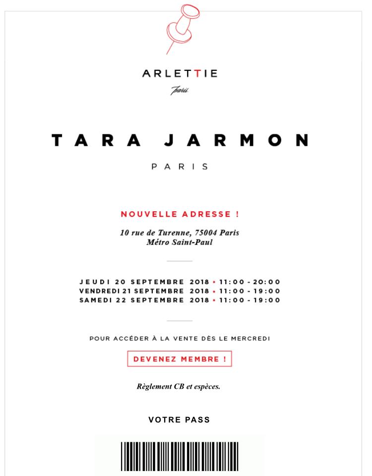 vente privee Tara Jarmon