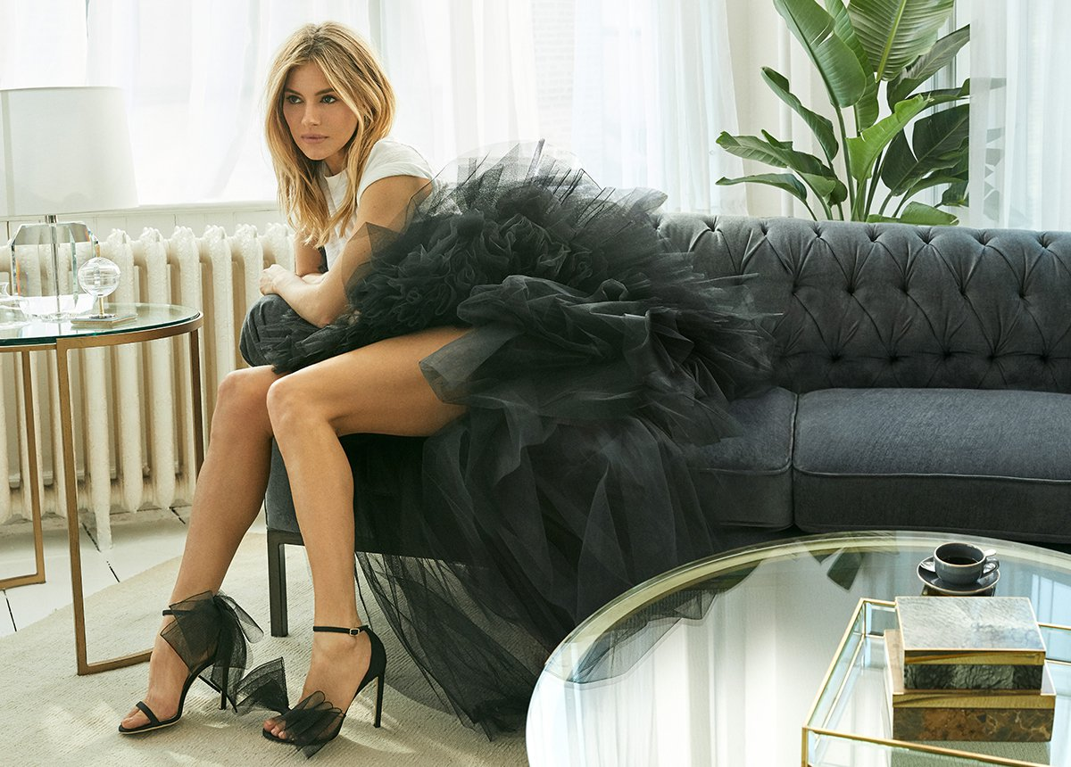 Sienna Miller in my choos