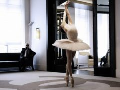 Karl-Lagerfeld-Creates-Custom-Tutu
