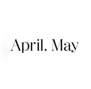 April May logo