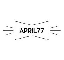 April 77 logo big