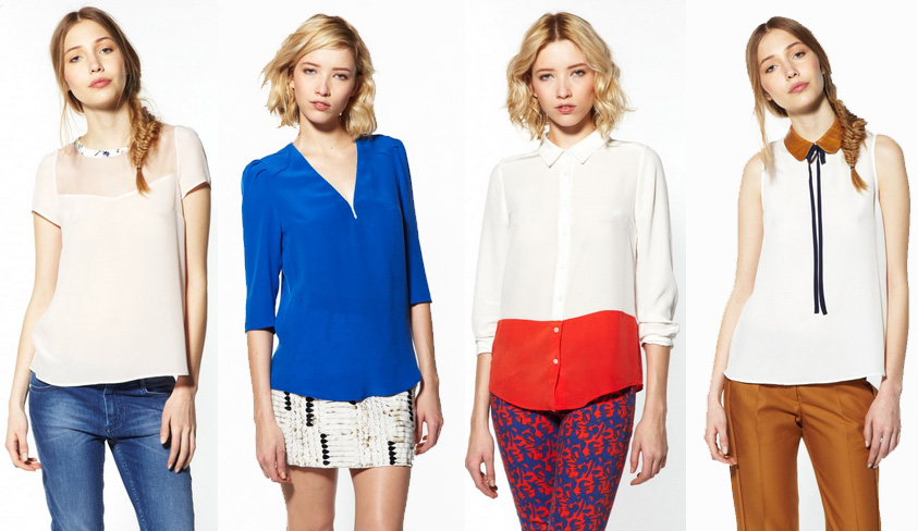 Tops Claudie Pierlot 2013