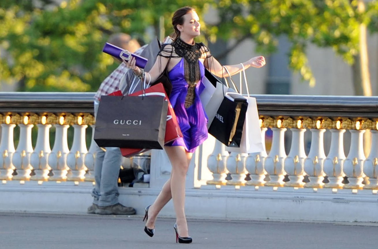 gossip girl shopping soldes