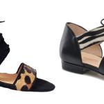 Sandales leopard Sézane 150€