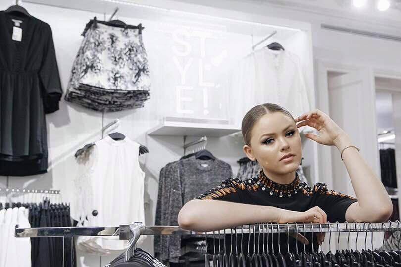 Kristina Bazan h&m opening
