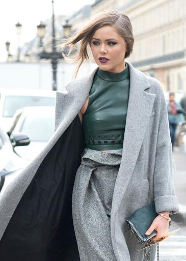 Kristina Bazan Paris Fashion week