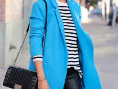 Viva Luxury Blue Coat