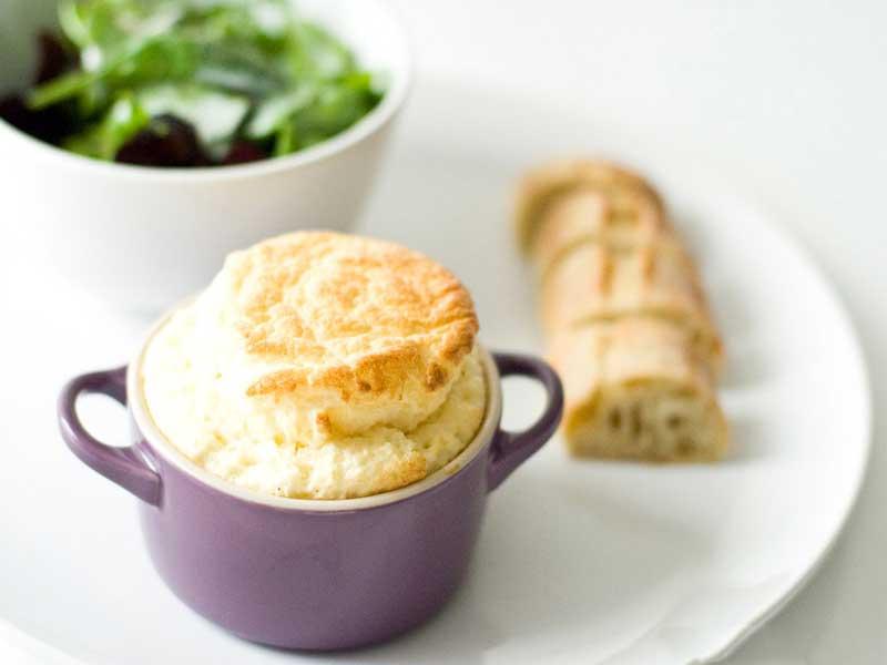 Soufflé-au-fromage-