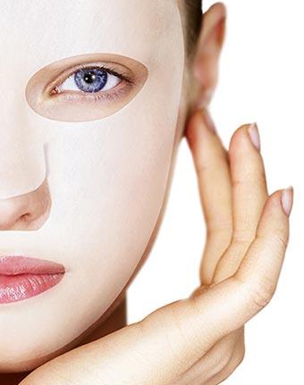Masque en tissu pour le soin du visage
