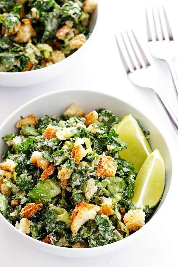 caesar salad recette