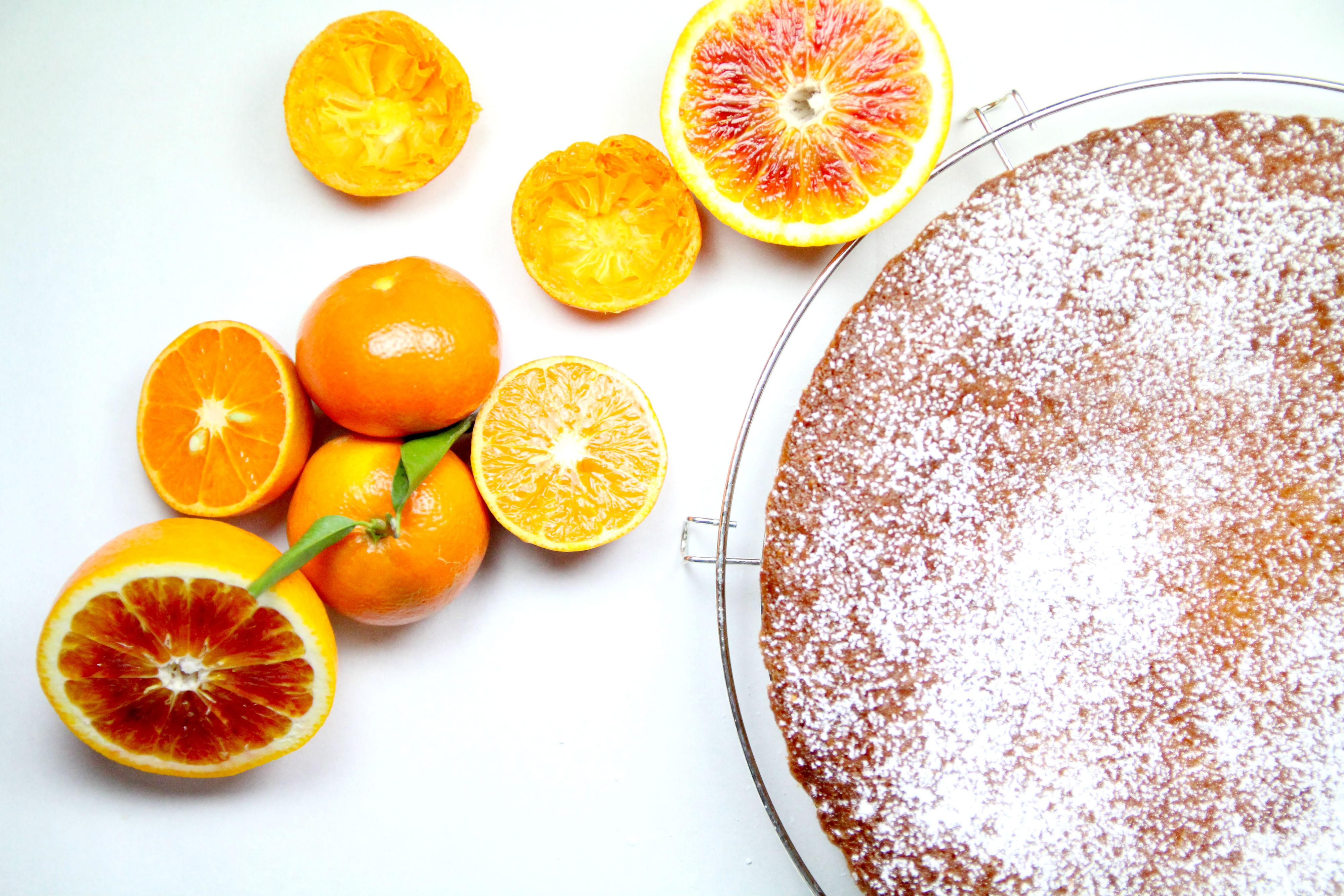 Gâteau aux clémentines miraculeux sans oeufs sans lait & sans gluten !
