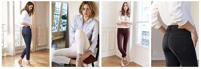 jeans 7/8 parfait Sezane pour femme