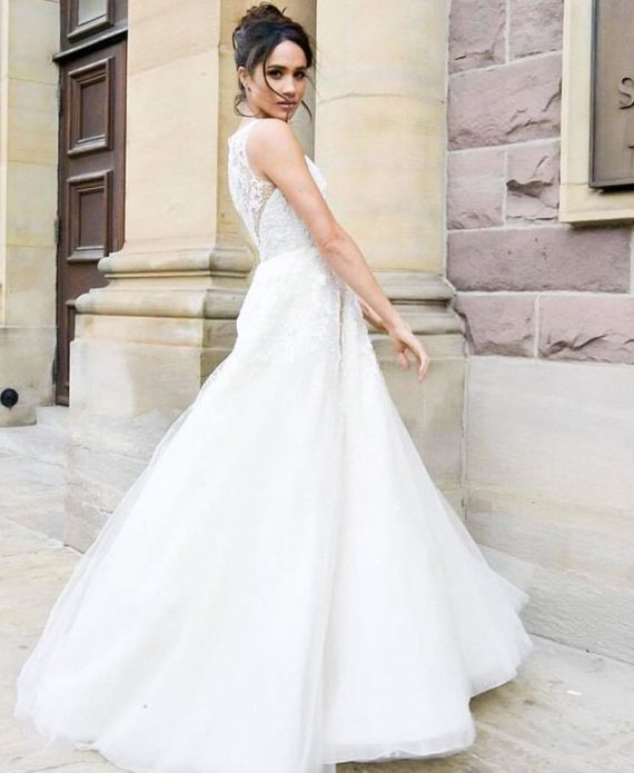 La robe de mariée de Meghan Markle Suits