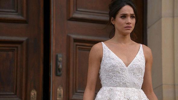Robe de mariée de Meghan Markle Suits