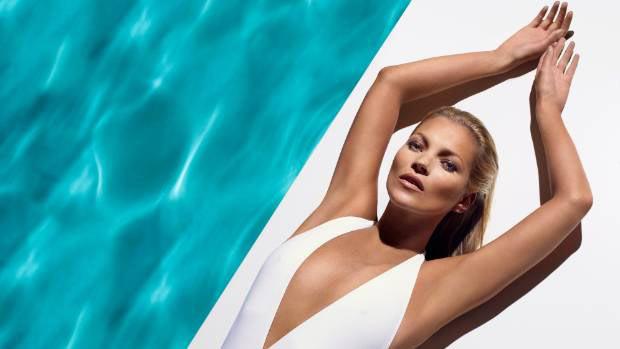 Kate Moss, égérie des cosmétiques autobronzants St Tropez