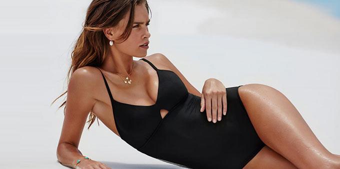 tendance maillots de bain noir cet été