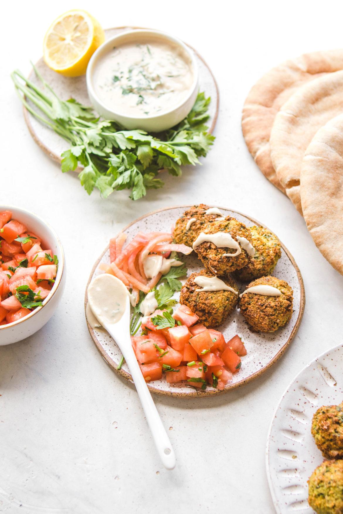 Falafel & sa sauce spéciale