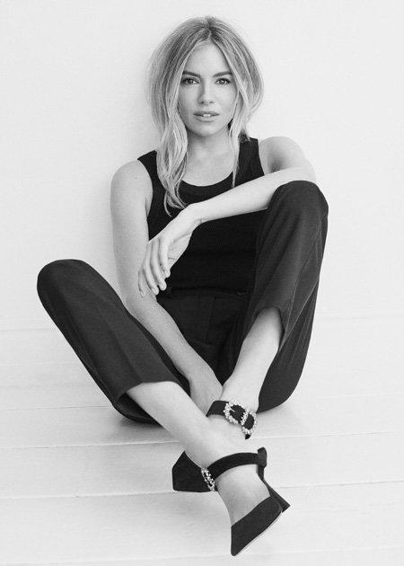Sienna Miller in my choos