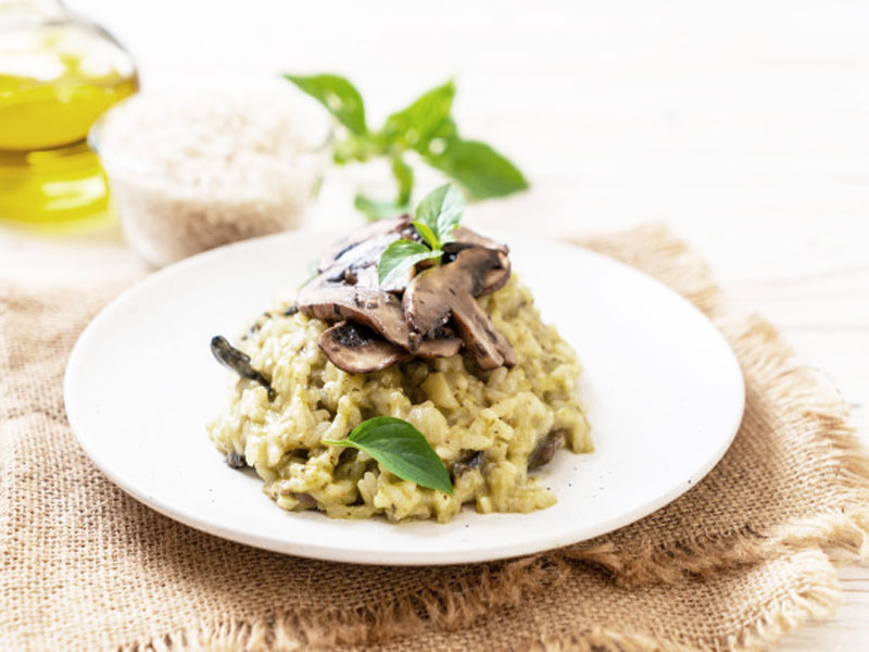 risotto cèpes parmesan