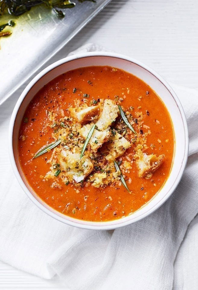soupe tomates